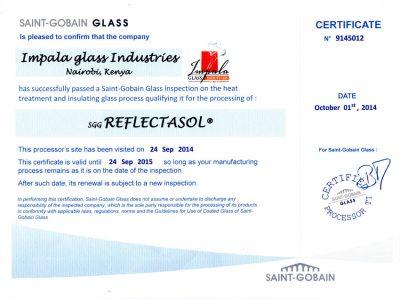 saint-obain-glass-certificate
